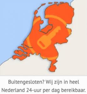 Buitengesloten in heel Nederland-DeSlotenMaker.com